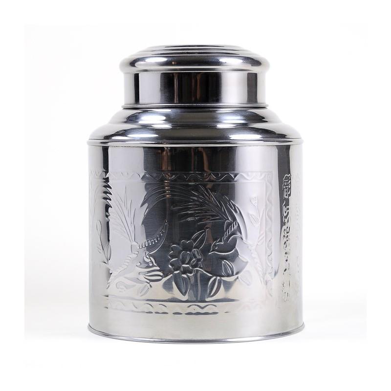 Boîte à thé inox martelé 1kg