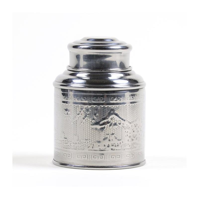 Bo te th inox martel 20 g vente en ligne de bo te th inox martel 20 g - Boite a the metal vide ...